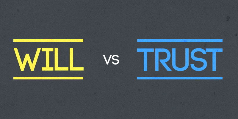 Image result for will versus trust